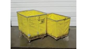 Laundry Carts for Storage of Dirty Table Linens